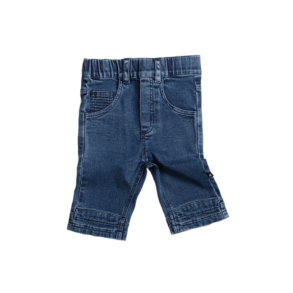 Anarkid - Denim Jogger Shorts | Pants & Shorts | Bon Bon Tresor