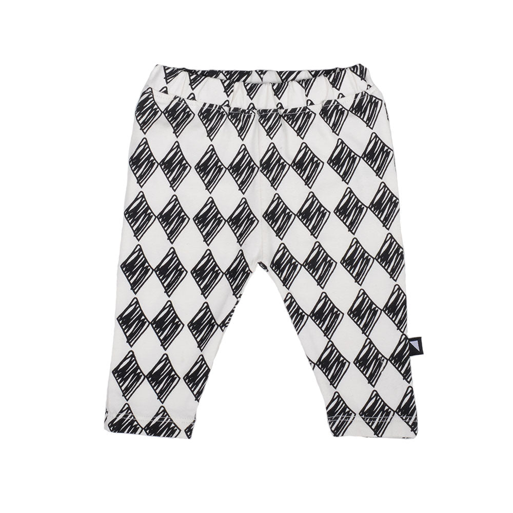 Anarkid - Harlequin Leggings Chalk | Pants & Shorts | Bon Bon Tresor