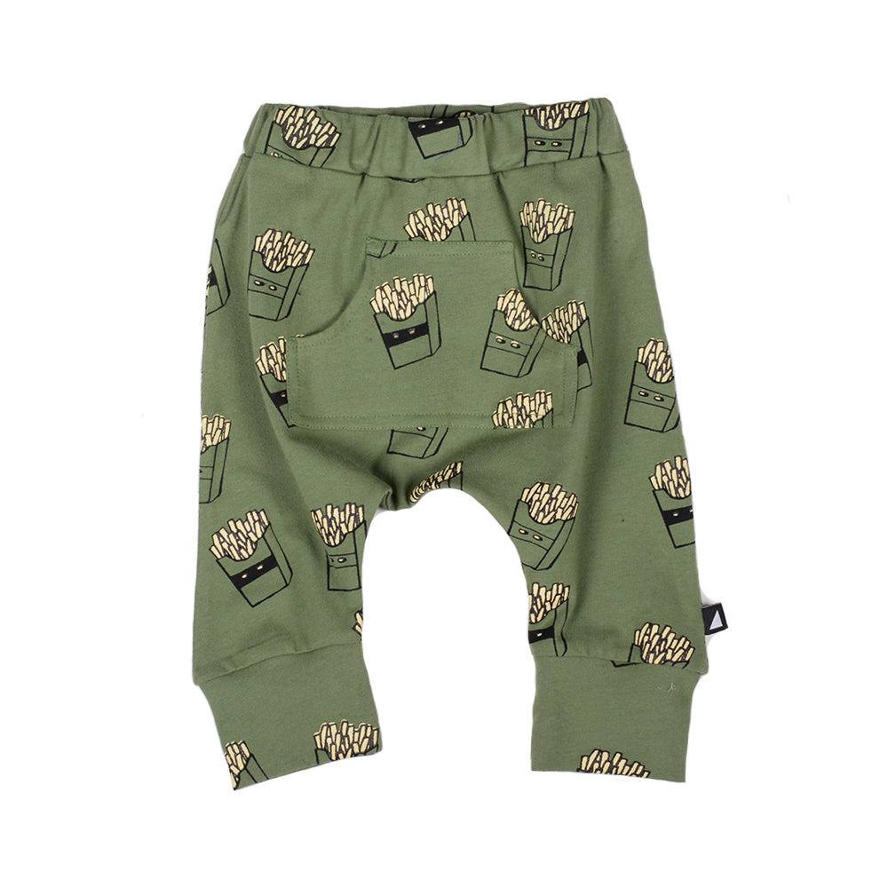 Anarkid - Hot Chips AOP Baggies Khaki | Pants & Shorts | Bon Bon Tresor