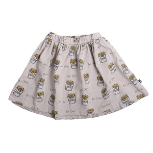 Anarkid - Hot Chips AOP Skirt | Dresses & Skirts | Bon Bon Tresor