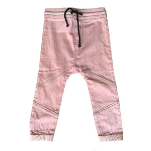 Anarkid - Pink Denim Joggers | Pants & Shorts | Bon Bon Tresor
