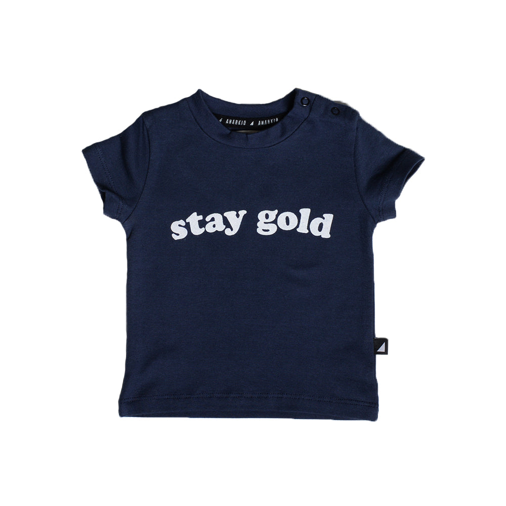 Anarkid - Stay Gold Short Sleeve Tee | Tops & T-Shirts | Bon Bon Tresor