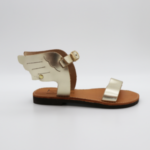 Astra Designs - Hermes Little Wings Gold | Sandals | Bon Bon Tresor