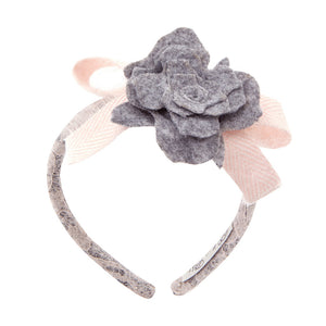 Balloon Chic - Girls Lace Applique Headhand | Hair Accessories | Bon Bon Tresor