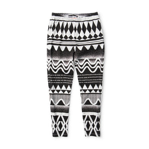 Missie Munster - Girls Black and White Boom Tick Leggings | Pants & Shorts | Bon Bon Tresor