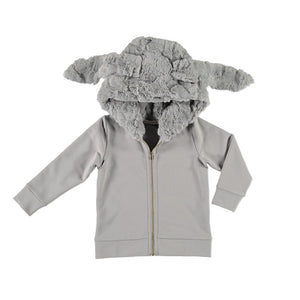 Carbon Soldier - Boys Grey Boss Hoodie | Sweaters & Knitwear | Bon Bon Tresor