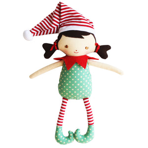 Alimrose Designs - Cheeky Girl Elf Rattle Toy | Rattles & Squeakers | Bon Bon Tresor