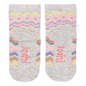 Toshi Kids - Baby Girl Butternut Organic Cotton Socks | Socks | Bon Bon Tresor