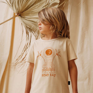 Kapow Kids - Boho Placement Drop Back T-Shirt | Tops & T-Shirts | Bon Bon Tresor