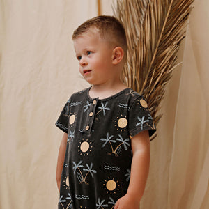 Kapow Kids - Sunseeker Acid Jumpsuit | Rompers & Playsuits | Bon Bon Tresor