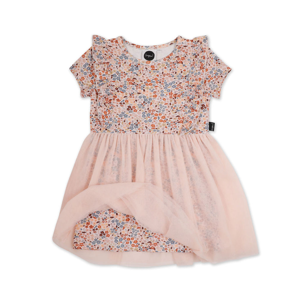 Kapow Kids - Girls Bloom Ruffle Tulle Dress | Dresses & Skirts | Bon Bon Tresor