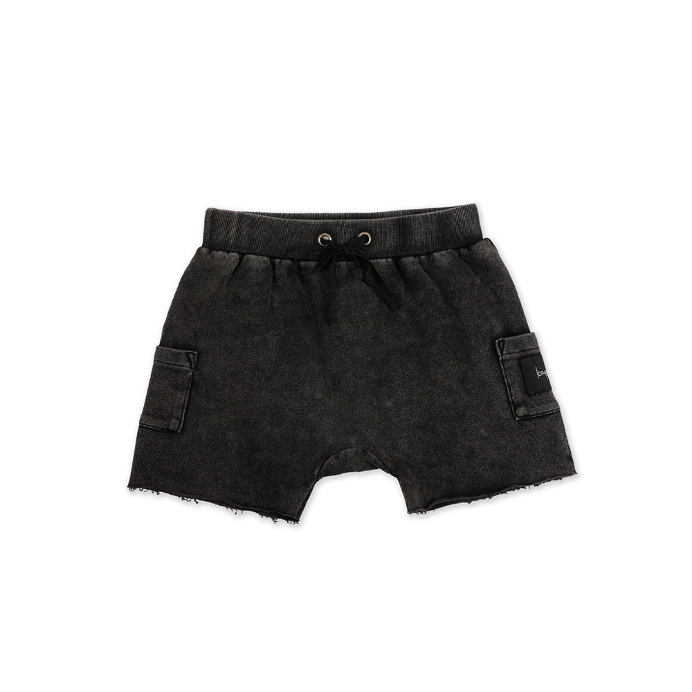 Kapow Kids - Essentials Acid Wash Shorts | Pants & Shorts | Bon Bon Tresor