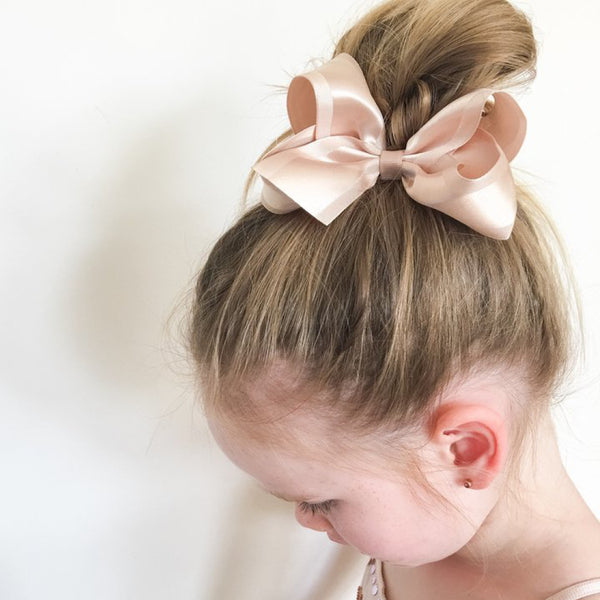 Sister Bows - Girls Asssorted Satin Bow Hair Clip | Hair Accessories | Bon Bon Tresor