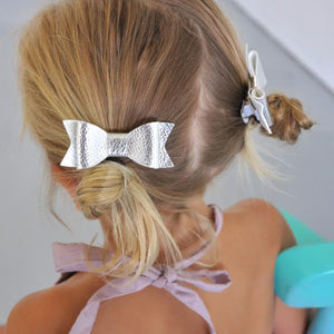 Sister Bows - Assorted Leather Bow Hair Clip | Hair Accessories | Bon Bon Tresor