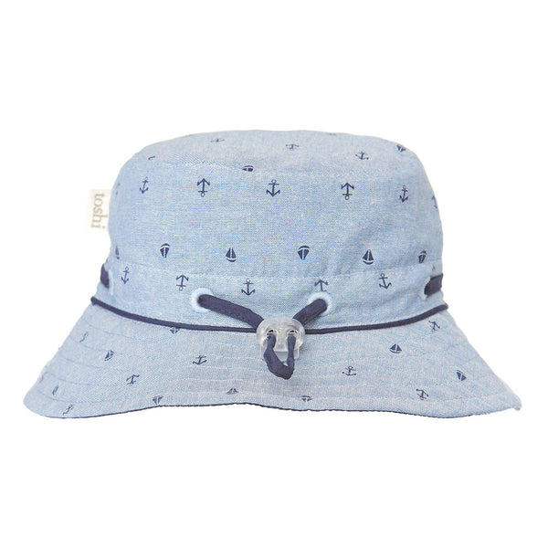 Toshi - Boys Chambray Cruising Sun Hat