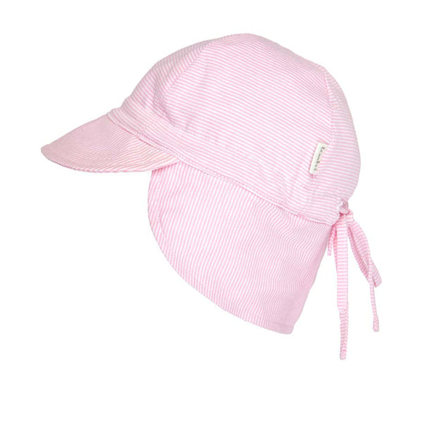 Toshi - Baby Blush Flap Cap Hat