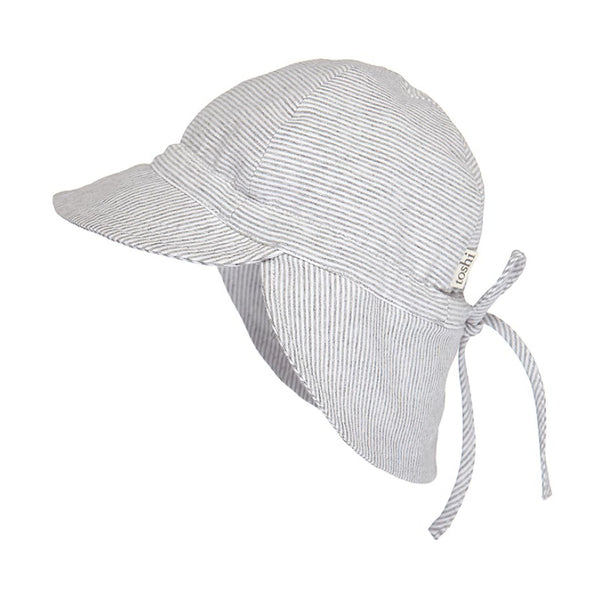 Toshi - Baby Dove Flap Cap Hat