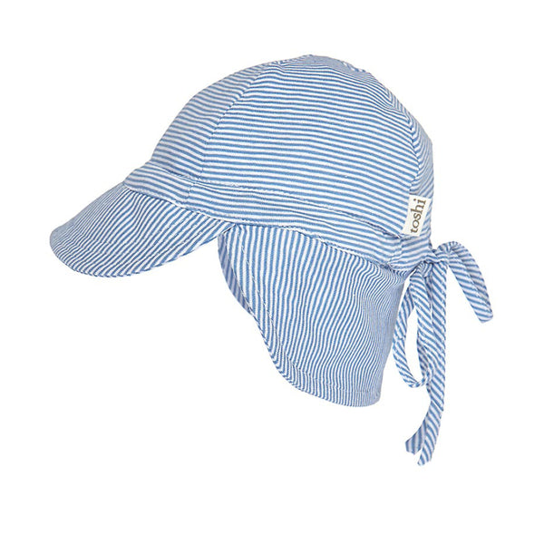 Toshi - Baby Blue Flap Cap Hat