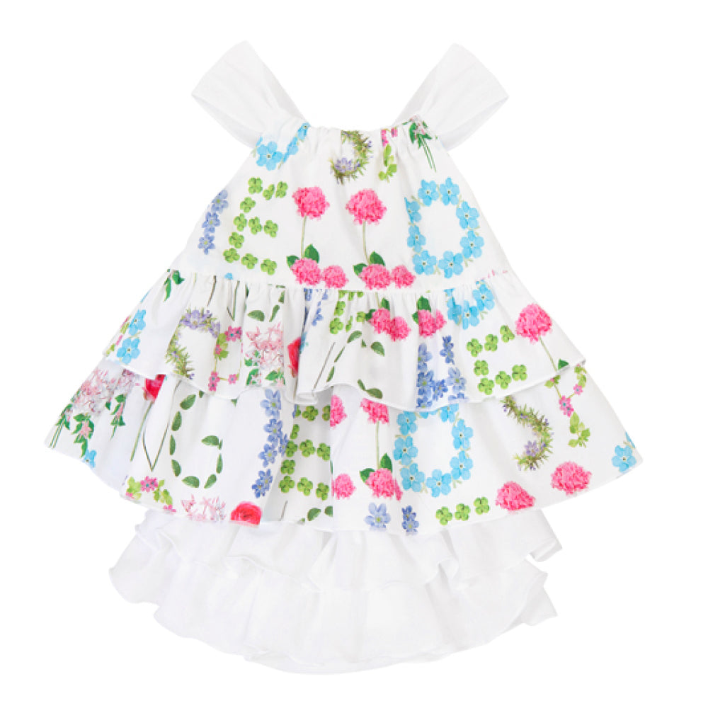 Balloon Chic - Baby Floral Print Dress | Party Dresses | Bon Bon Tresor
