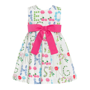 Balloon Chic - Girls Floral Party Dress | Party Dresses | Bon Bon Tresor