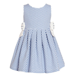 Balloon Chic - Blue Spots Party Dress | Party Dresses | Bon Bon Tresor