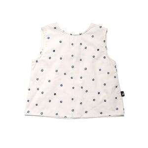 Anarkid - Baby Girl Bubble Woven Shell Top | Tops & T-Shirts | Bon Bon Tresor