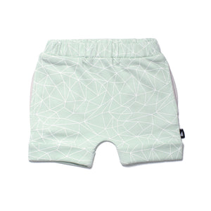 Anarkid - Baby Boy Mint Fractured Shorts | Pants & Shorts | Bon Bon Tresor