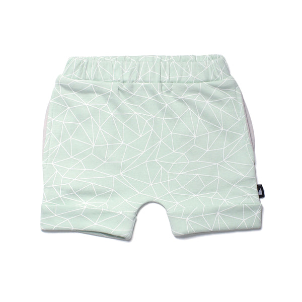 Anarkid - Baby Boy Mint Fractured Shorts