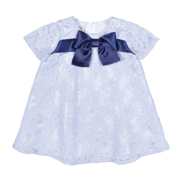 Hucklebones London - Baby Girl Lace Swing Dress | Party Dresses | Bon Bon Tresor