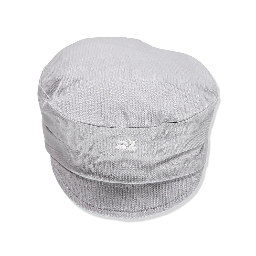 Emile et Rose - Grey Baker Boy Cap Hat | Hats | Bon Bon Tresor