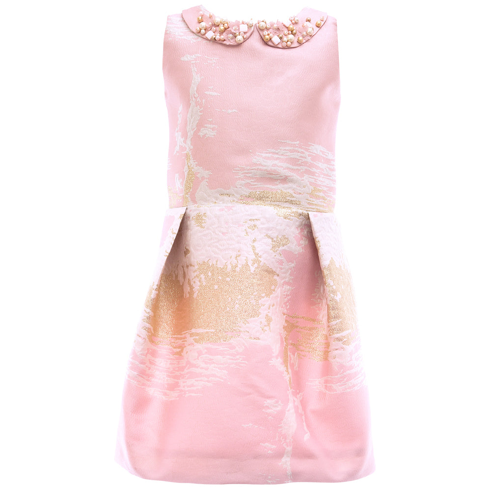 Soapbox Kids - Girls Summer Pink Afternoon Tea Dress | Party Dresses | Bon Bon Tresor