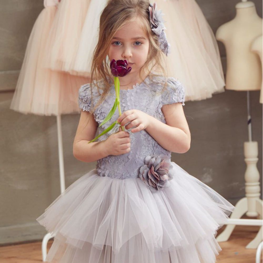 Beggi - Girls Darcy Lace Party Dress | Party Dresses | Bon Bon Tresor