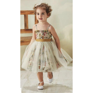 Beggi - Girls Vintage Rose Dress | Party Dresses | Bon Bon Tresor