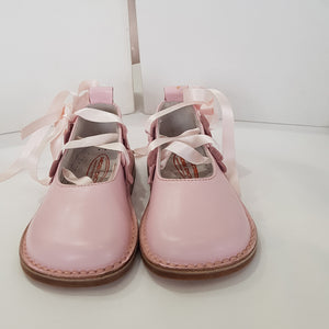 Morello Shoes - Toddler Pink Leather Ballet Shoes | Dress Shoes | Bon Bon Tresor