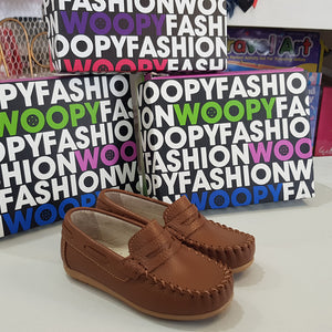 Woopy - Tan Polo Loafers | Moccasins & Loafers | Bon Bon Tresor
