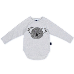 Kapow Kids - Koala Placement Long Sleeve T-Shirt | Tops & T-Shirts | Bon Bon Tresor