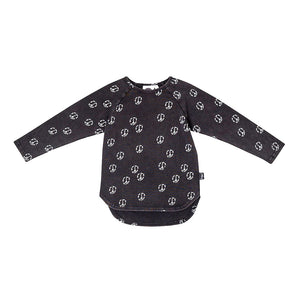 Kapow Kids - Skate & Peace Reversible Hooded Zip Jacket | Sweaters & Knitwear | Bon Bon Tresor