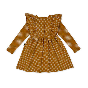 Kapow Kids - Girls Straight From The Heart Ruffle Dress | Dresses & Skirts | Bon Bon Tresor