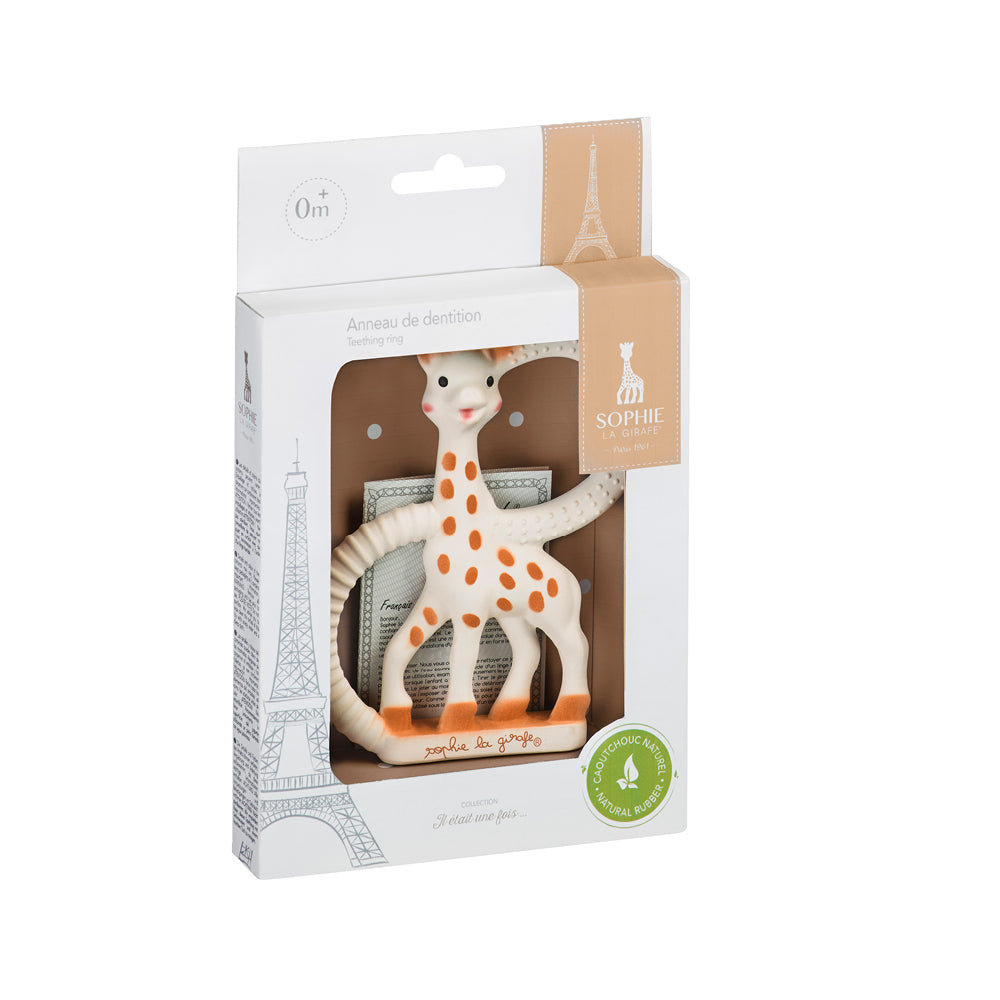 Sophie La Girafe - So Pure Teething Ring | Baby Teethers | Bon Bon Tresor