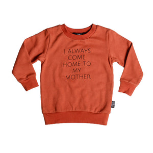 Sunday Soldiers - Home To My Mother Fleece Sweater | Sweaters & Knitwear | Bon Bon Tresor