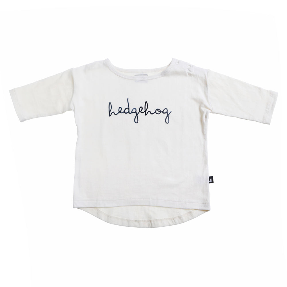 Anarkid - White Hedgehog Oversized Tee | Tops & T-Shirts | Bon Bon Tresor