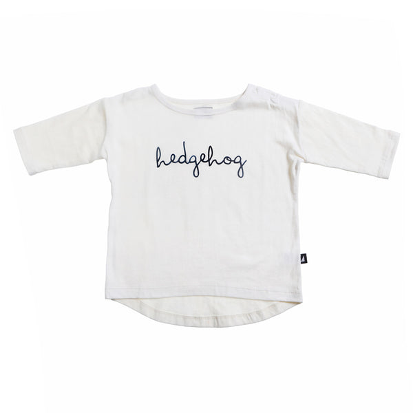 Anarkid - White Hedgehog Oversized Tee