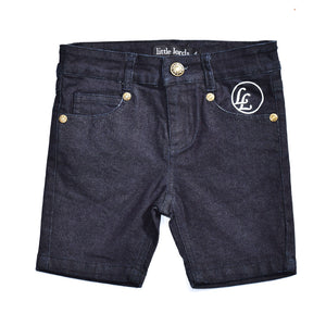 Little Lords - Boys Indigo Hey Shorty | Pants & Shorts | Bon Bon Tresor