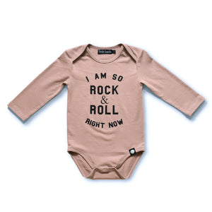 Little Lords - Long Sleeve Rock and Roll Baby Bodysuit | Rompers & Playsuits | Bon Bon Tresor