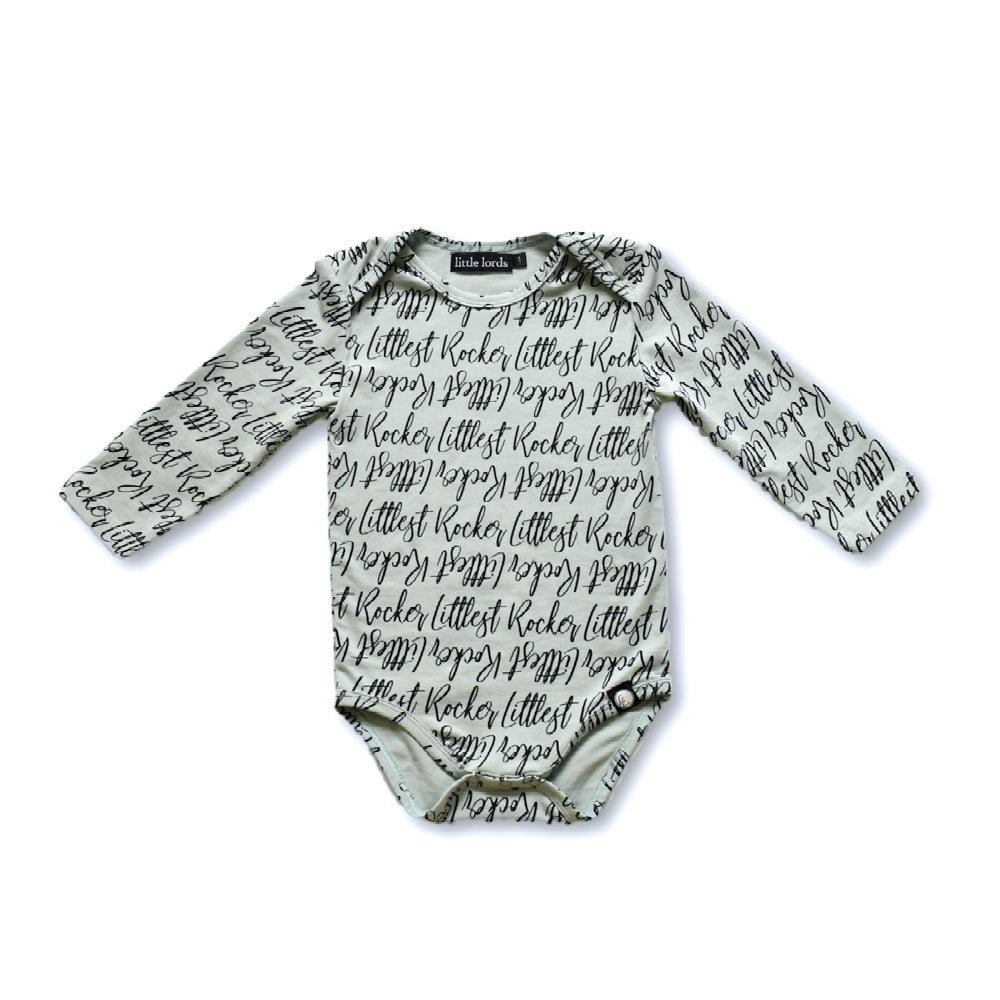 Little Lords - Littlest Rocker Baby Bodysuit | Rompers & Playsuits | Bon Bon Tresor