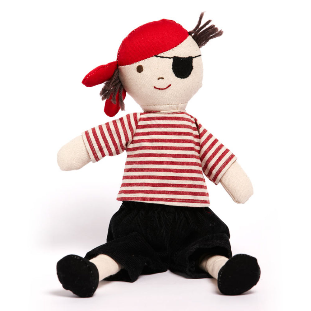 Nana Huchy - Boris The Pirate | Dolls & Soft Toys | Bon Bon Tresor