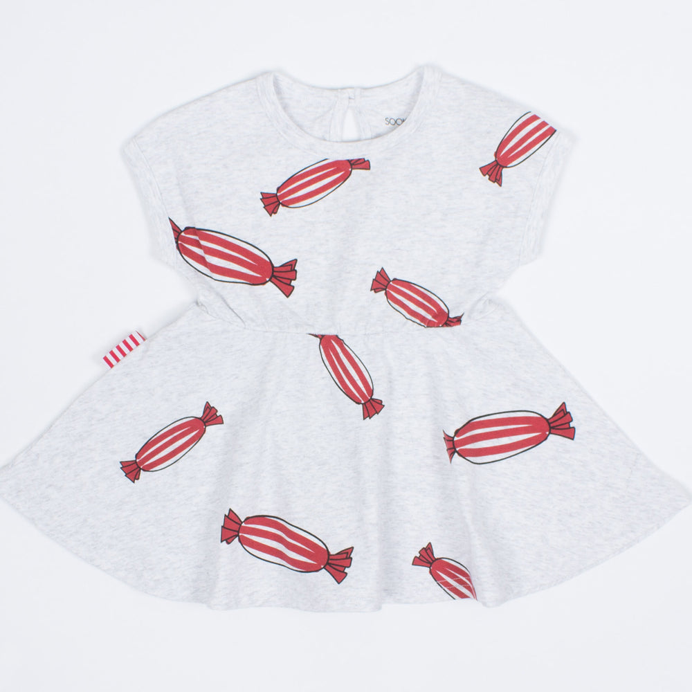 SOOKI Baby - Baby Girl Red Bon Bon Dress | Dresses & Skirts | Bon Bon Tresor