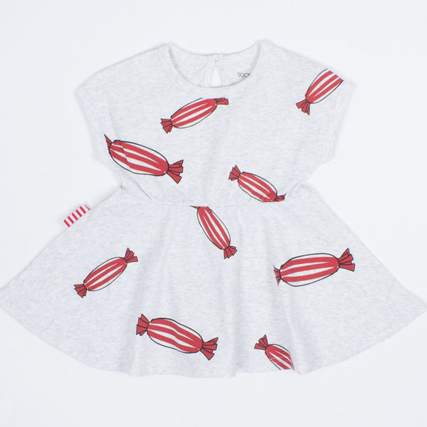SOOKIbaby - Baby Girl Red Bon Bon Dress