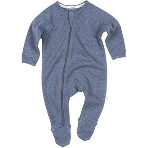 Toshi - Organic Onesie Long Sleeve Dreamtime Moonlight | Rompers & Playsuits | Bon Bon Tresor