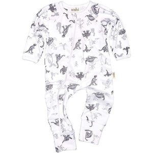 Toshi - Jurassic Long Sleeve Onesie | Rompers & Playsuits | Bon Bon Tresor
